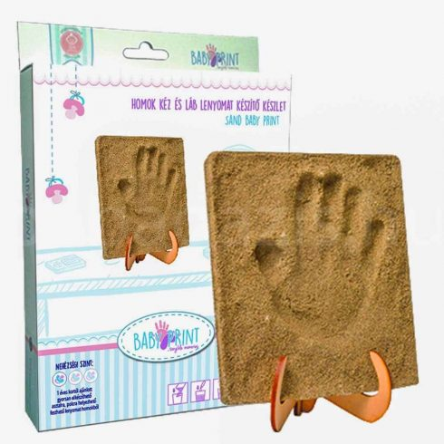 MybbPrint - Homok kéz- és láblenyomat készítő készlet