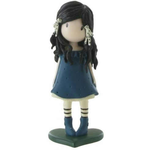 Comansi Gorjuss - Kék ruhás játékfigura