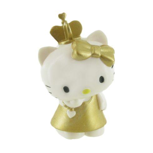 Comansi Hello Kitty játékfigura arany ruhában - 99983