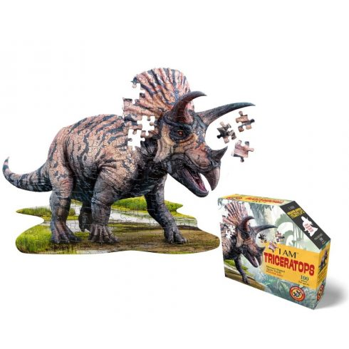Wow Puzzle junior 100 db - Triceratops