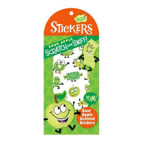 Stickers Illatosított matrica - Zöldalma