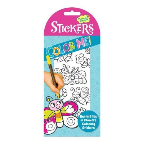 Stickers kiszinezhető matrica - Pillangók