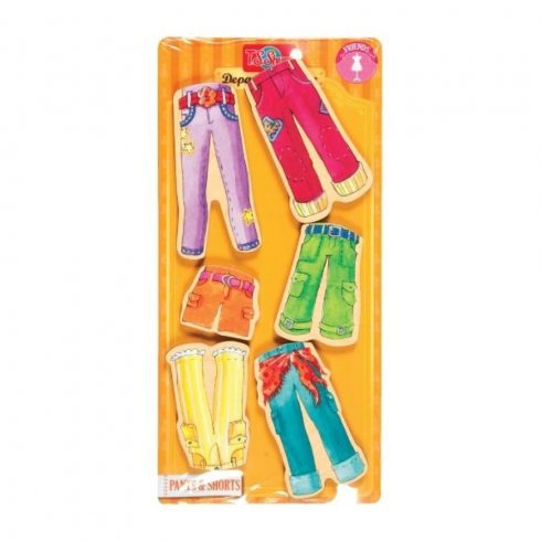 TS mágneses, színes vidám ruha - Nagy - Nadrágok