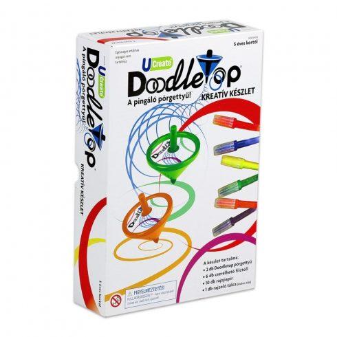Doodletop Pingáló Pörgettyű design szett