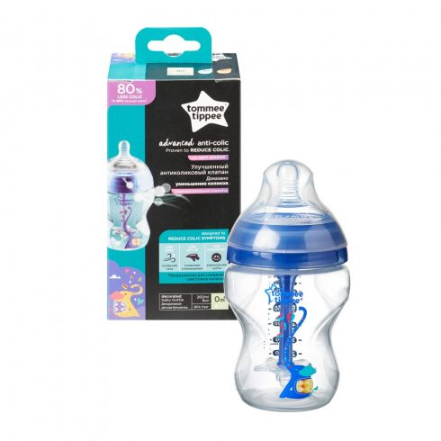 Tommee Tippee Advanced Anti-colic cumisüveg 260 ml kék
