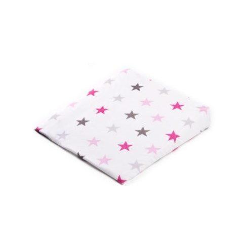 Sensillo párnahuzat - reflux ellen - 38x30 cm - Rózsaszín Csillag
