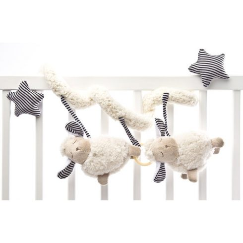 Sensillo Plüss spirál játék - Bárányos