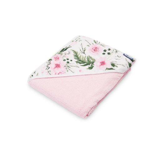 Sensillo 100x100cm kifogó rózsaszín rózsás