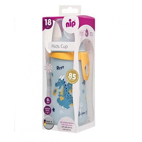 NIP Kids itató 330ml 18+ - Fiús