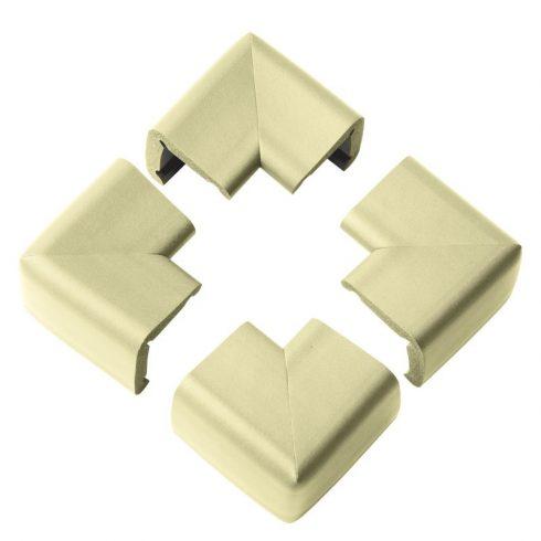Clevamama sarokvédő bézs XL 4 db ragasztócsíkkal