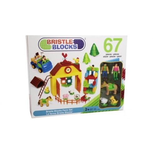 Bristle Blocks, Tüskeépítő FARM, 67 db