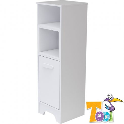 Bianco keskeny nyitott +1 ajtós szekrény